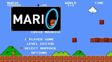 'Mari0', el juego gratuito que pone una Portal Gun en manos del fontanero en 'Super Mario Bros.'