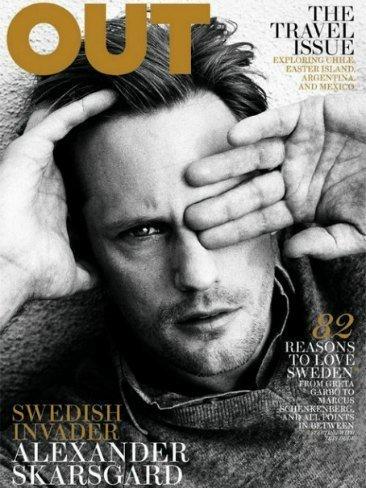 Alexander Skarsgård... vamos, lo que digo siempre: ¡Viva Suecia!