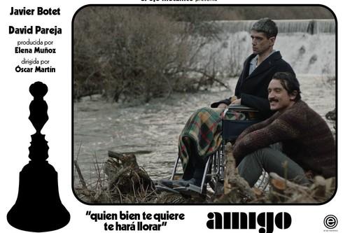 """""""El rodaje de 'Amigo' fue más exigente mental que físicamente"""". Javier Botet"""