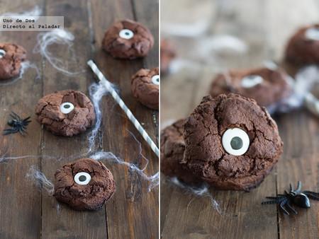 galletas ojo de monstruo
