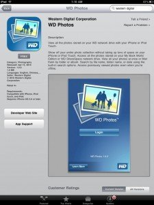 WD pone las fotos de tu disco duro en red en tu iPhone o iPod Touch