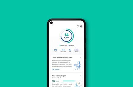 Google Fit permitirá usar la cámara del móvil para medir la frecuencia cardiaca y respiratoria: sin necesidad de un smartwatch