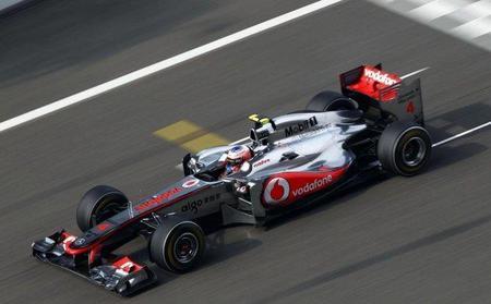 Jenson Button ha probado las nuevas evoluciones en el simulador