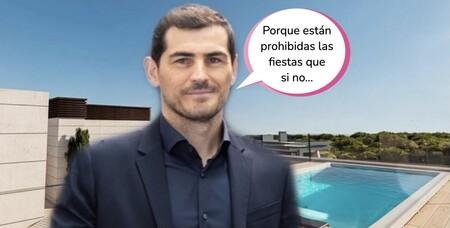 Todas las fotos del ático de máximo lujo que se ha comprado Iker Casillas: con 5 baños y piscina privada