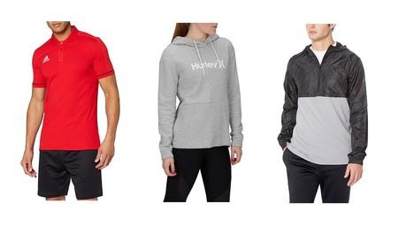 Ropa deportiva en oferta de marcas como Under Armour, Hurley y Adidas en Amazon