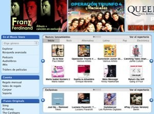 iTunes Latino lanzado