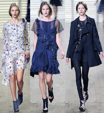 Chloe en la Semana de la Moda de Paris otoño/invierno 2008/2009