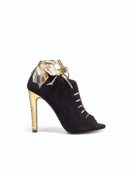 Cenicienta viste de Zara. Todos los zapatos de fiesta de Zara para noches de ensueño