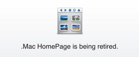 Adiós a las páginas y grupos de .Mac