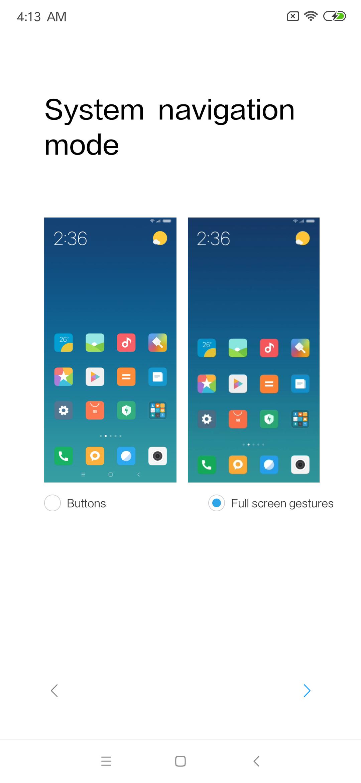 Xiaomi Mi Mix 3 interfaz