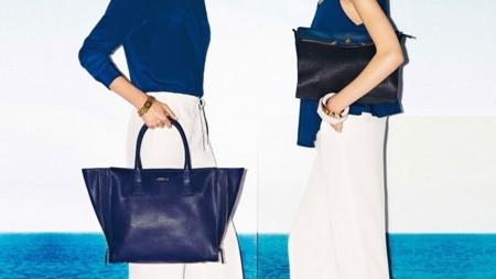 bolsos azules