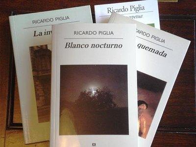 'Blanco nocturno' de Ricardo Piglia gana el Premio Dashiell Hammet 2011