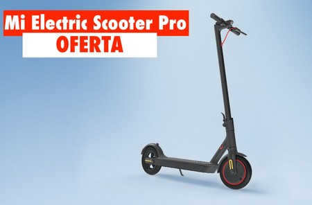 Este patinete eléctrico de Xiaomi tiene una autonomía brutal y hoy está rebajadísimo con este cupón: Mi Scooter Pro por 406 euros