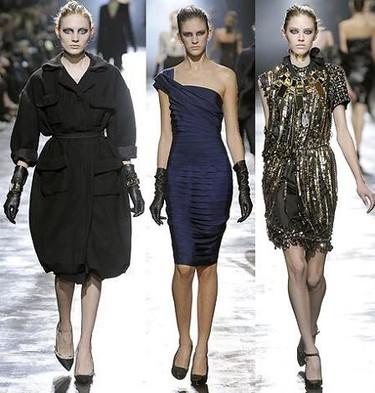 Lanvin en la Semana de la Moda de Paris otoño/invierno 2008/2009