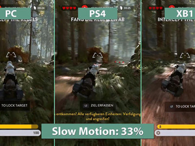 Comparativa en video de Star Wars: Battlefront, consolas vs PC