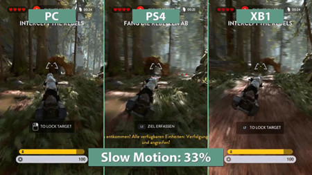 Comparativa en video de Star Wars: Battlefront, consolas vs PC
