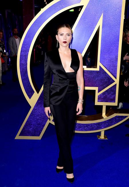 Scarlett Johansson Luce Escotazo En El Estreno De Los Vengadores Endgame 1