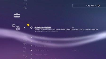 La versión 3.70 del firmware de PlayStation 3 trae actualización automática y recomendaciones