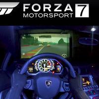 ¿Un Lamborghini Aventador como controlador para Xbox y Forza 7? Sí, hay gente para todo...