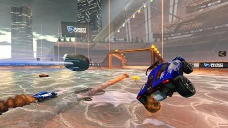 Rocket League Hockey Mode 2