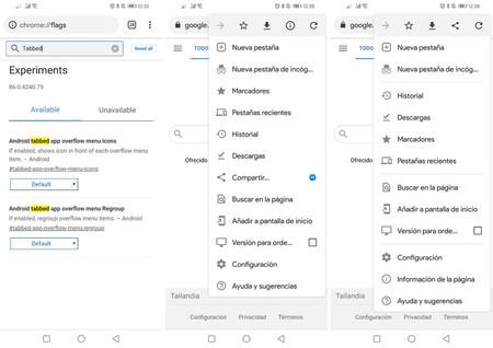 Google Chrome para Android activa el rediseño de su menú a todos los usuarios, Cloud Pocket 365