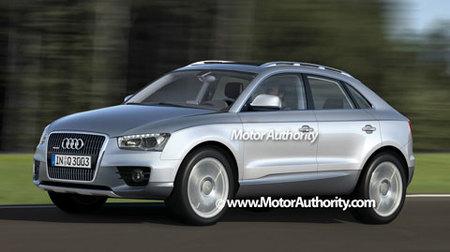 Audi Q3, recreación y algunos datos
