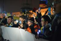 Así se está usando el teléfono móvil como herramienta (y arma) en las protestas de Ucrania