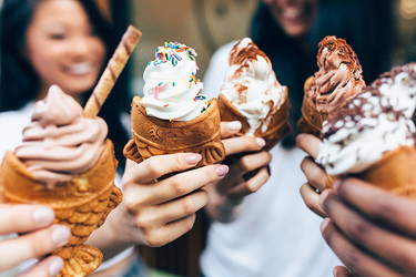 Taiyaki, los conos de helado más increíbles del momento