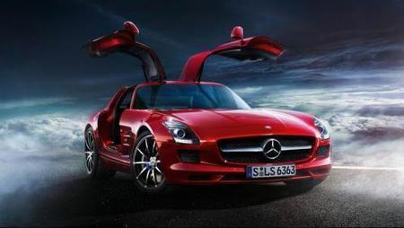 Mercedes-Benz SLS AMG, el nuevo alas de gaviota