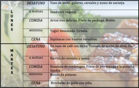 Tu dieta semanal con Vitónica (XXIII)