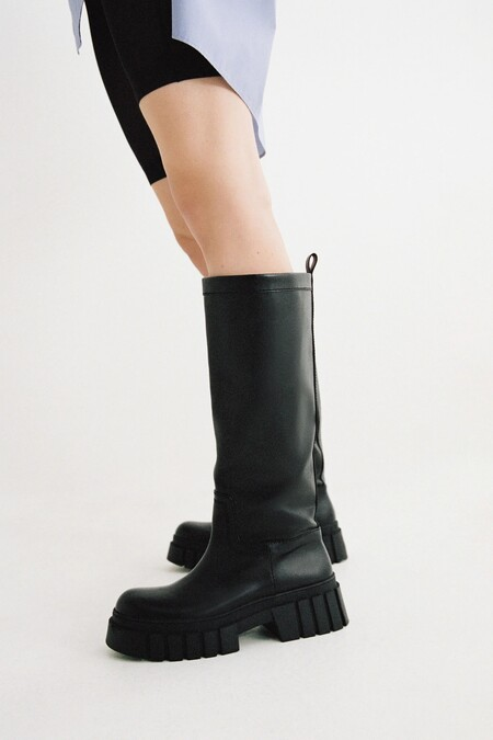Zara Bf 2020 Zapatos Suela Ruda 10
