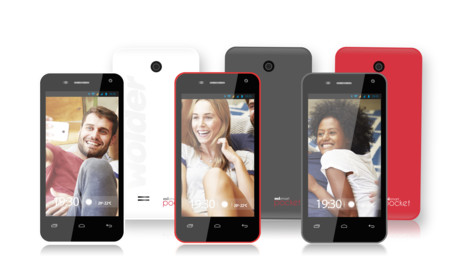 Smartphone Wolder Mismart Pocket Colors