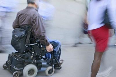 Escaner para sillas de ruedas en el Aeropuerto El Prat