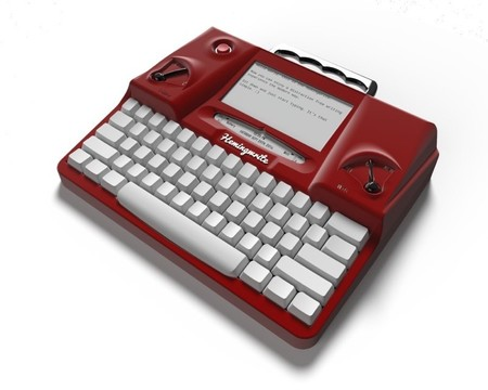 Hemingwrite Red Render Low