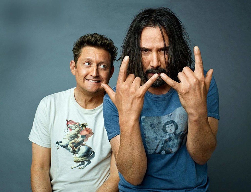 'Bill and Ted 3' starts production officially in the face to its release in 2020