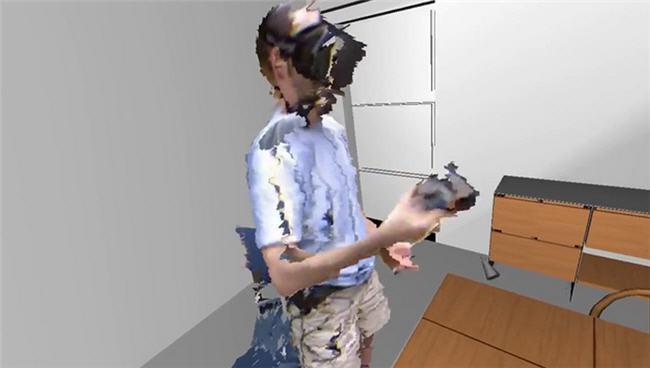 Creando un modelo 3D de ti mismo en tiempo real con Oculus Rift y tres Kinect