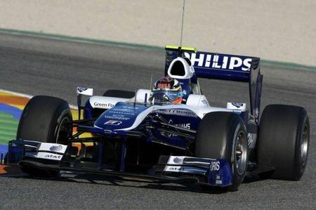 El Williams FW33 se presentará en Circuit de la Comunitat Valenciana Ricardo Tormo de Cheste