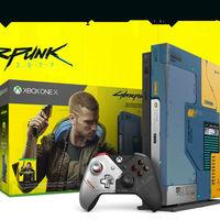 Consola Xbox One X 1TB, Edición Limitada Cyberpunk 2077, más barata que nunca hoy en MediaMarkt: 389 euros