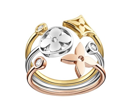 Louis Vuitton presenta su colección de joyas Monogram Idylle