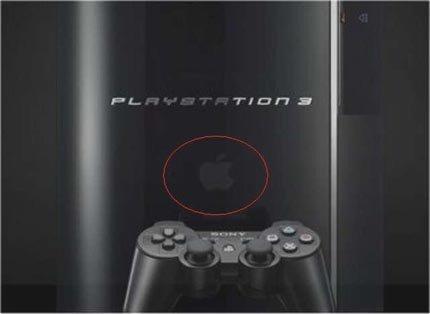 ¿¡El logo de Apple en la web de la PlayStation 3!?