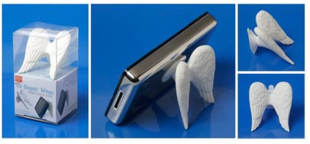 iPhone Wings Stand, un soporte angelical