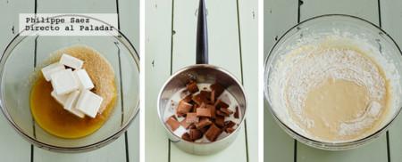 Pastel Chocolate Queso Crema Prep