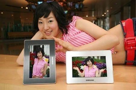 Samsung SDP-07, marco de fotos con vídeo y audio