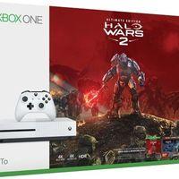 Pack Xbox One S de 1TB + Halo Wars 2 por sólo 219,99 euros y envío gratis