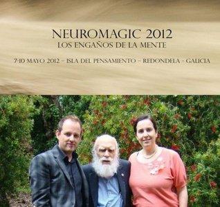 Conferencia espectáculo de Neuromagic hoy en Redondela (Pontevedra)