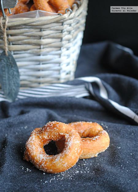 Las rosquillas caseras de toda la vida, receta tradicional