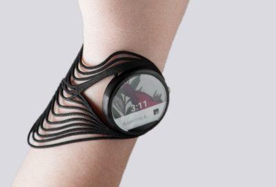 Con Tactum diseñas un wearable sobre tu piel y luego lo imprimes en 3D