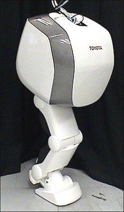 Robot con una sola pierna de Toyota