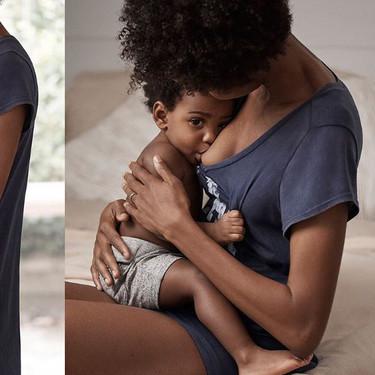 Nos encanta la tierna publicidad de Gap, en la aparece una madre amamantando a su hijo