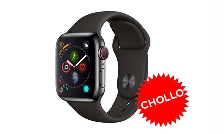¿Quieres un Apple Watch con conectividad 4G a precio de chollo? Desde la app de eBay con el cupón PTECH5, tienes el Series 4 de 40mm por sólo 389,49 euros